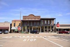 De Stadsvierkant van Somervilletennesse, Somerville, TN Royalty-vrije Stock Afbeeldingen