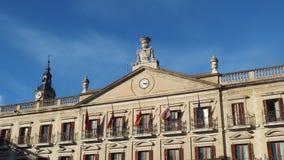 De Stadsvierkant van Vitoria Oud Gebouwen Royalty-vrije Stock Foto