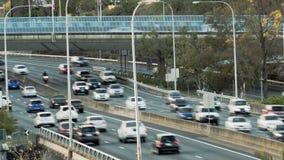 De stadsweg van Brisbane stock videobeelden