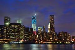De Stadsworld trade center van New York Royalty-vrije Stock Afbeeldingen
