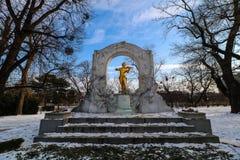 ` De Stadtpark del ` la ciudad Central Park de Viena Imágenes de archivo libres de regalías