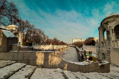 ` De Stadtpark del ` la ciudad Central Park de Viena Imagen de archivo libre de regalías