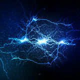 De stakingsachtergrond van de bliksemflits Stock Afbeelding