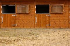 De stal van het paard Stock Fotografie