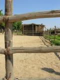 De Stal van het paard Stock Foto's