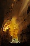 De stalactieten van het hol Stock Foto