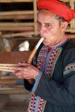 De stam van Longneck, Thailand Royalty-vrije Stock Foto's