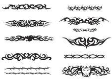De stammen Reeks van de Armband Stock Afbeeldingen