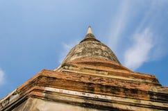 De standbeelden en de tempels van Boedha. Royalty-vrije Stock Foto