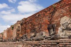 De standbeelden van Boedha Stock Foto's