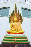 De standbeelden van Boedha. stock foto