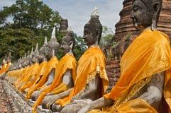 De standbeelden van Boedha Royalty-vrije Stock Afbeeldingen