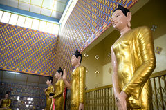 De Standbeelden van Boedha Stock Afbeelding