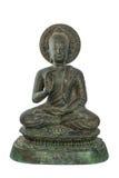 De standbeelden van Boedha zegenen stock afbeelding