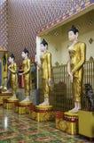 De Standbeelden van Budha Stock Foto