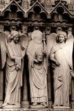 De standbeelden van de steen Stock Foto's