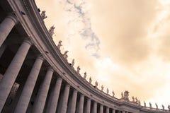 De Standbeelden van heilige Peter Royalty-vrije Stock Afbeeldingen