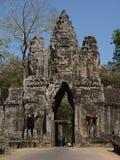 De Standbeelden van het Gezicht van Boedha in Bayong Stock Foto