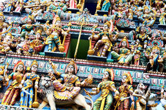 De standbeelden van het hindoeïsme stock fotografie