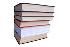 De stapel van boeken. Stock Afbeelding
