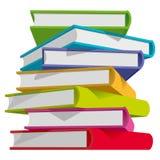 De stapel van boeken royalty-vrije illustratie