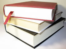 De stapel van boeken Stock Afbeelding