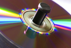 De stapel van CD Stock Afbeeldingen