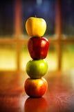 De Stapel van de appel Stock Foto