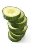 De stapel van de komkommer Royalty-vrije Stock Fotografie