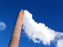De Stapel van de rook Stock Afbeelding