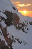 De stapel van de sneeuw Stock Afbeeldingen