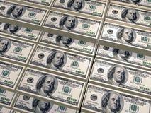 De stapel van dollars Royalty-vrije Stock Afbeelding