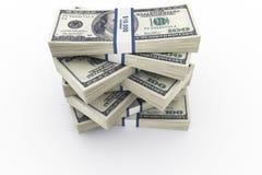 De stapel van het geld vector illustratie