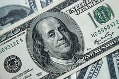 De Stapel van het geld $100 dollarsrekeningen Stock Foto