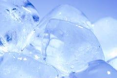 De stapel van het ijsblokje Stock Afbeeldingen