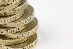 De stapel van het muntstuk Stock Afbeelding