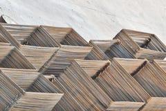 De stapel van het staal Royalty-vrije Stock Afbeeldingen