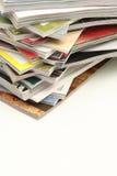 De Stapel van het tijdschrift Royalty-vrije Stock Foto