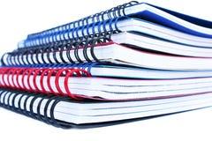 De stapel van het voorbeeldenboek Stock Afbeeldingen