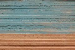 De stapel van kleurrijke de bouwachtergrond van de gipsraad stock foto