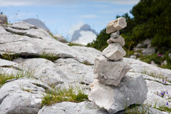 De stapel van Oostenrijk stenen Stock Foto's