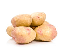 De stapel van Potatoe Stock Foto