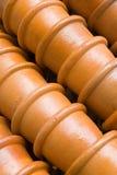 De stapel van potten stock fotografie