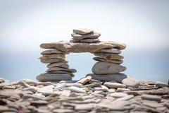 De stapel van de steen Royalty-vrije Stock Afbeeldingen