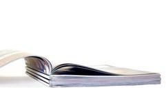 De stapel van tijdschriften Stock Afbeeldingen