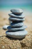 De stapels van de steen Stock Foto