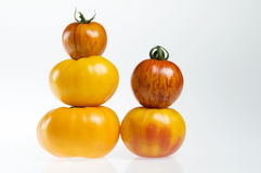 De stapels van de tomaat Royalty-vrije Stock Afbeeldingen