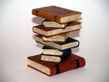 De Stapels van het boek Stock Fotografie