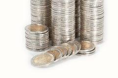 De stapels van het geld Stock Foto
