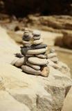 De stapels van rotsen Royalty-vrije Stock Afbeelding